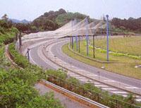 阪和自動車道泉佐野ジャンクション1993年施工